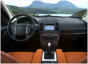 фото салона Land Rover Freelander 2 2013