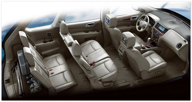 фото салона Nissan Pathfinder 2014
