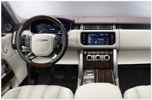 фото салона Range Rover Evoque 2014