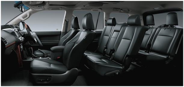фото салона Тойота Ленд Крузер Прадо 150 2014