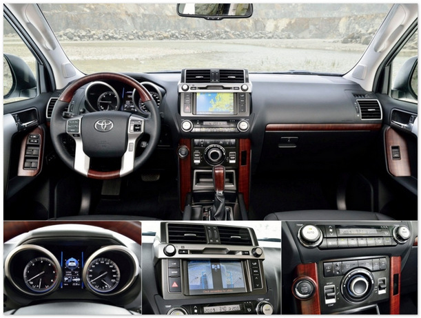 фото салона Toyota Land Cruiser Prado 2014