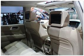 фото салона нового Nissan Pathfinder