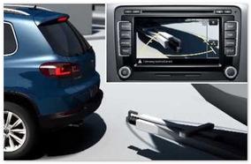 камера заднего вида Volkswagen Tiguan 2014