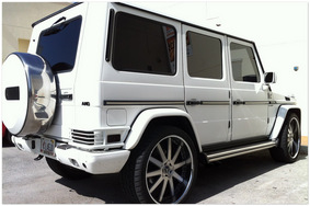 Mercedes G Wagon White 2014