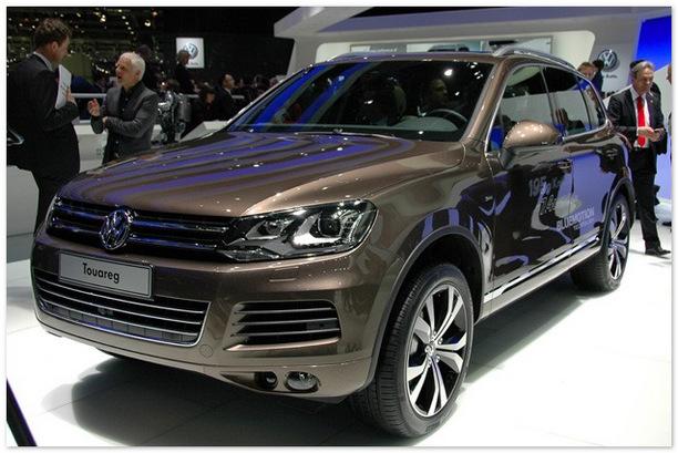 Volkswagen Touareg Hybrid 2014