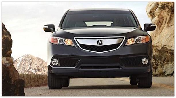 фото Acura RDX 2014(вид спереди)