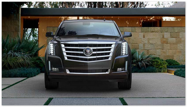 фото Cadillac Escalade 2014 (вид спереди)