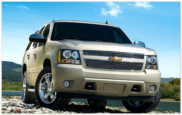 фото Chevrolet Taho 2013-2014(вид спереди)