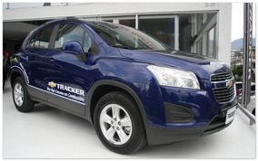 фото Chevrolet Tracker 2014 (вид сбоку)