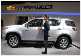 фото Chevrolet Trailblazer 2014 (вид сбоку)