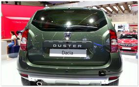фото Dacia Duster (вид сзади)