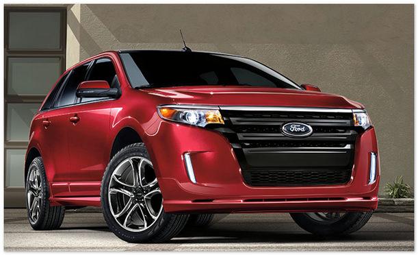 фото Ford Edge 2014(вид спереди)