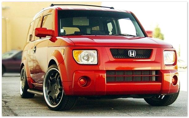 фото Honda Element (вид спереди)