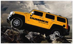 фото Hummer H3 (вид сбоку)