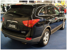 фото Hyundai IX55(вид сзади)