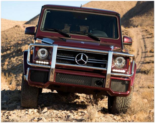 фото Mercedes G 63 2014