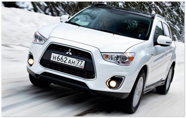 фото Mitsubishi ASX 2014 (вид спереди)