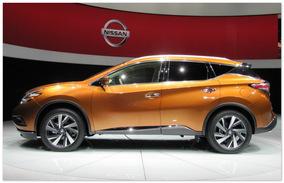 фото Nissan Murano 2015 (вид сбоку)
