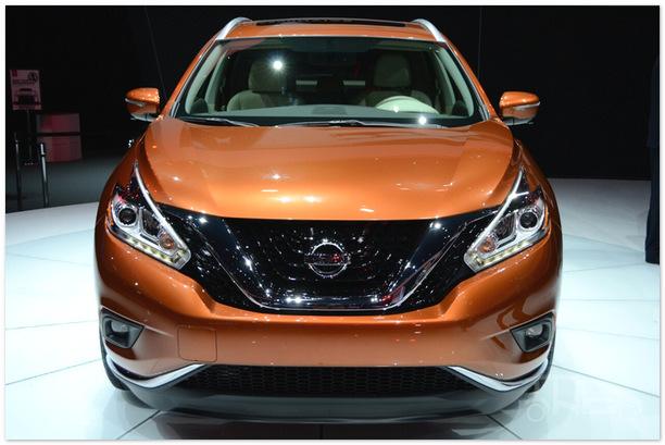 фото Nissan Murano 2015 (вид спереди)