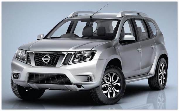 фото Nissan Terrano 2014 года (вид спереди)