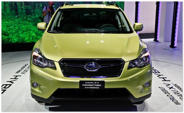 фото Subaru XV 2014(вид спереди)