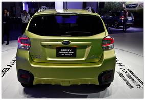 фото Subaru XV 2014(вид сзади)