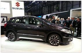 фото Suzuki SX4 2014(вид сбоку)