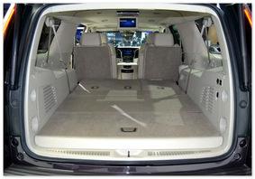 фото багажника Cadillac Escalade 2014-2015