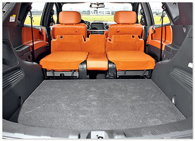 фото багажника Luxgen7 SUV