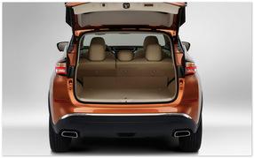 фото багажника Nissan Murano 2014