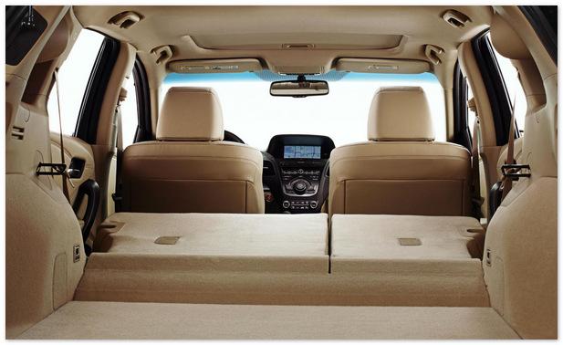 фото багажника Acura RDX 2014