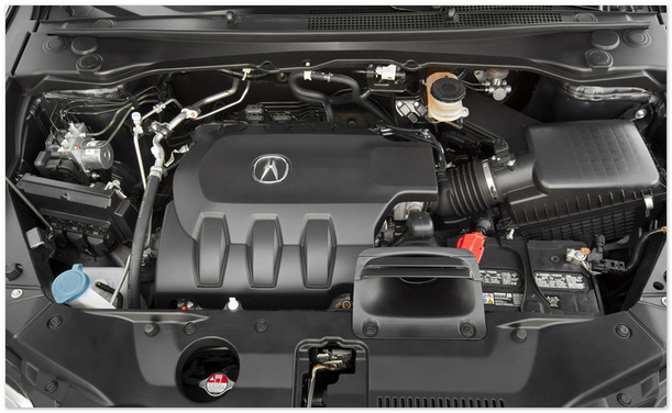 фото двигателя Acura RDX 2014