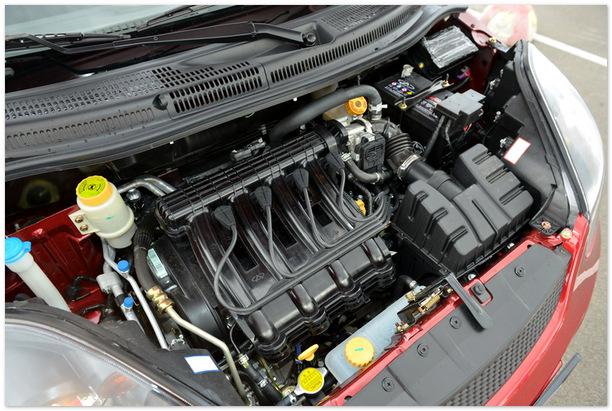 фото двигателя Чери Индис