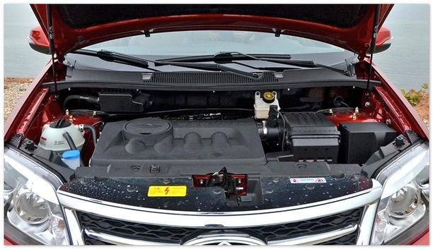 фото двигателя Чери Тигго 5