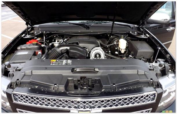 фото двигателя Chevrolet Taho 2014
