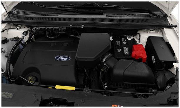 фото двигателя Ford Edge 2014