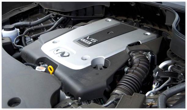 фото двигателя Infiniti QX60 2014