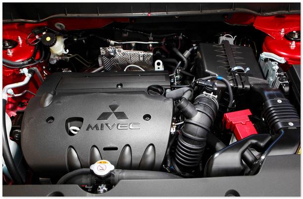 фото двигателя Mitsubishi ASX 2013-2014