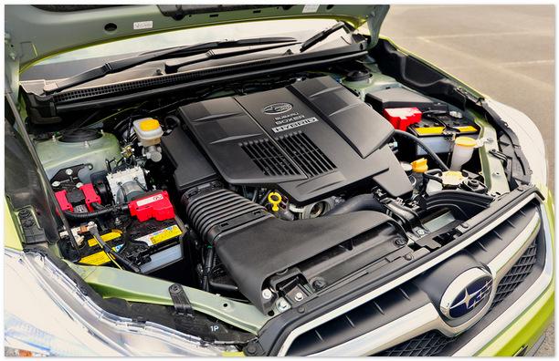фото двигателя Subaru XV 2014