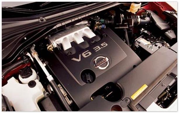 фото двигателя  Nissan Murano 2014-2015