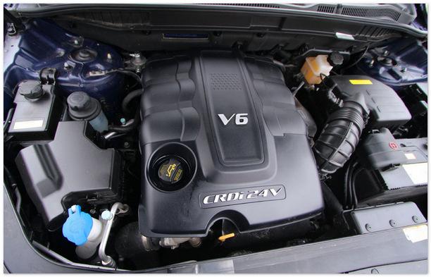 фото двигателя Хендай ix55