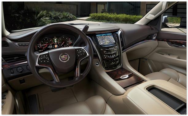 фото салона Cadillac Escalade 2014