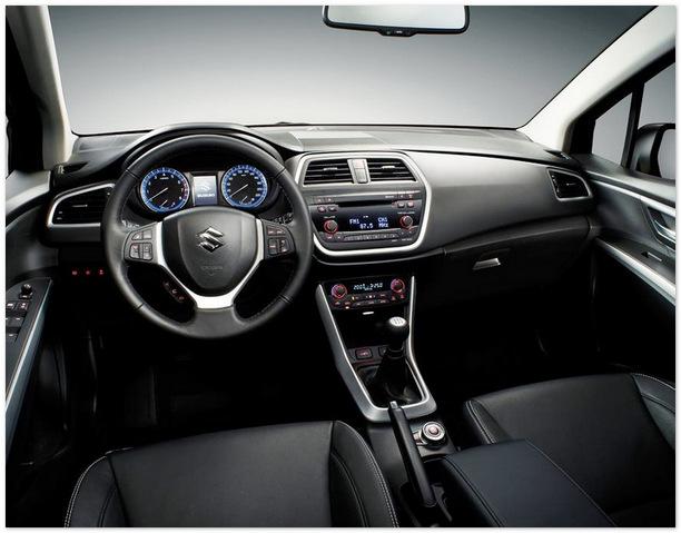 фото салона Suzuki New SX4