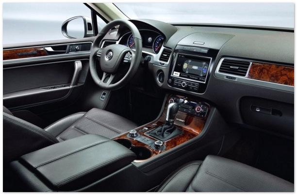фото салона Volkswagen Touareg