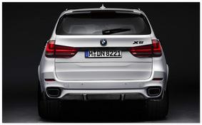 фото BMW X5 M (вид сзади)