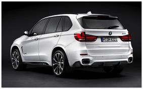 фото BMW X5M (вид сбоку)