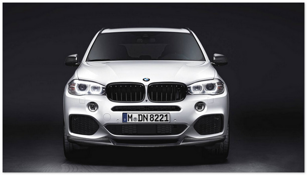 фото BMW X5M (вид спереди)