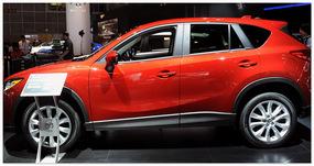 фото Mazda CX-5 2014 (вид сбоку)