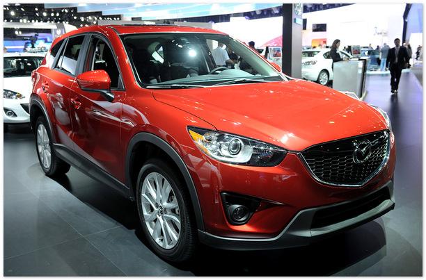 фото Mazda CX-5 2014 (вид спереди)