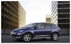 фото Mazda CX-7 2014(вид сбоку)